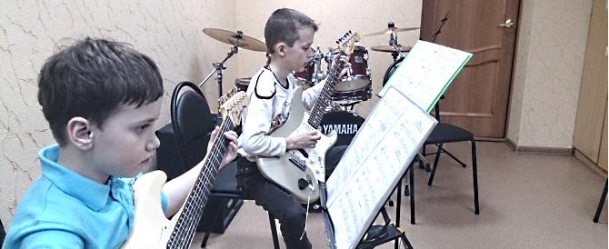 Учебное пособие  «Гитара в эстрадно-джазовом ансамбле»  для 1-2 годов обучения