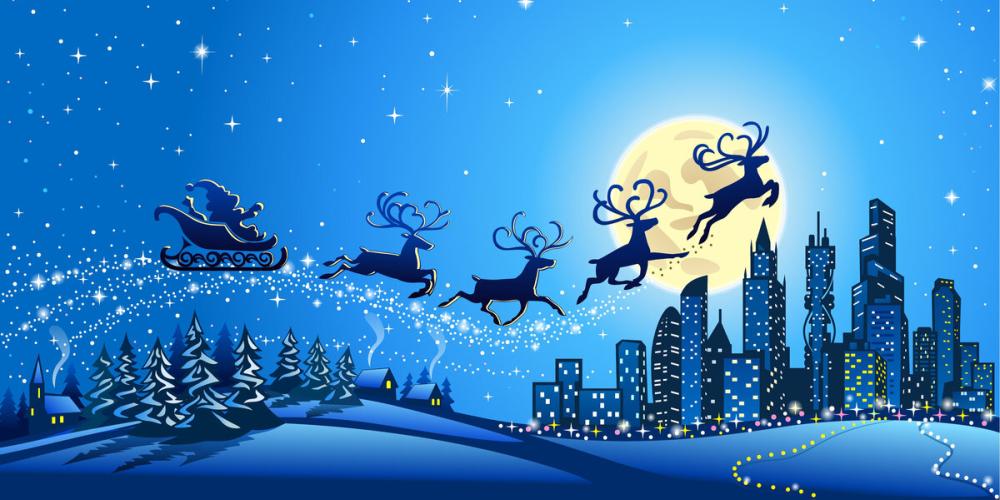 Мелодия «Колокольчики» (Jingle Bells), ноты для детского  эстрадного ансамбля