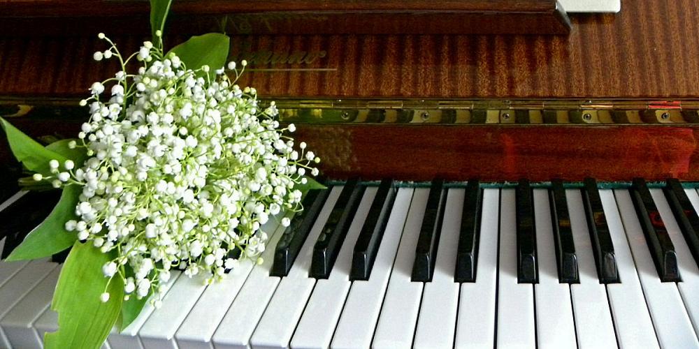 Мелодия песни «Ландыши» Оскара Фельцмана , ноты для детского эстрадного ансамбля