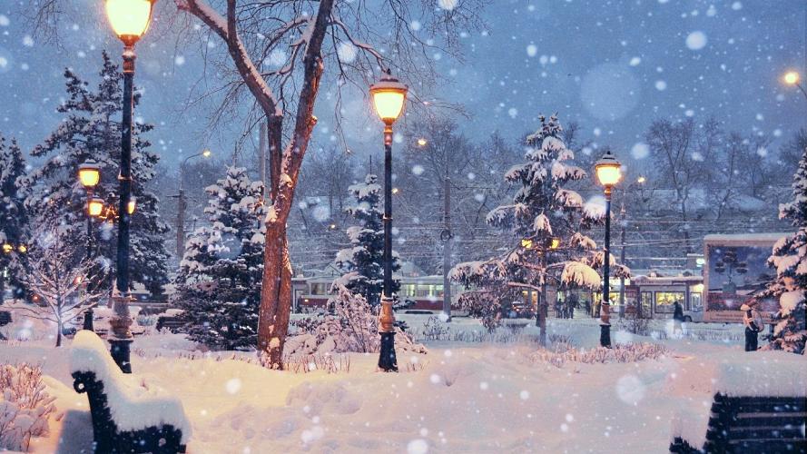Мелодия песни «Зимняя сказка» Александра Пинегина, ноты для детского эстрадного ансамбля